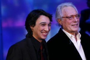Enzo Jannacci con il figlio Paolo