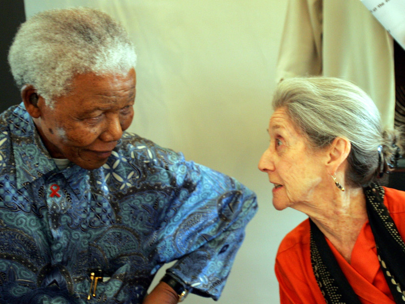 NoteVeryicali.it_Nadine Gordimer_Nelson Mandela