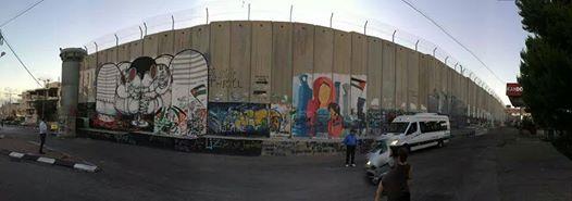 Gerusalemme. Il muro che divide israeliani e palestinesi