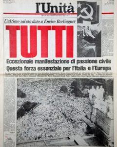 NoteVerticali.it_Unità Tutti 13 giugno 1984 Berlinguer