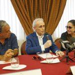 José Carreras incontra la stampa prima del concerto al Parco Scolacium
