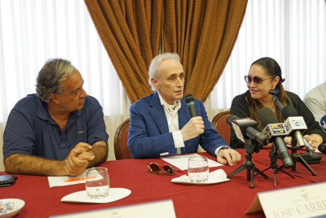 José Carreras alla conferenza stampa di Armonie d'Arte Festival