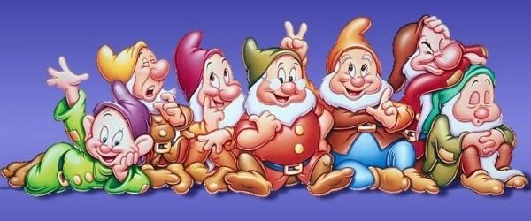 I sette nani secondo Walt Disney