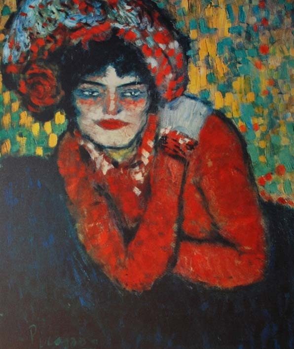 Pablo Picasso, L'Attente, Barcelona Suite, 1966