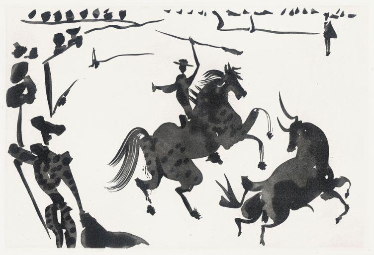 Pablo Picasso, serie Tauromachia, 1959