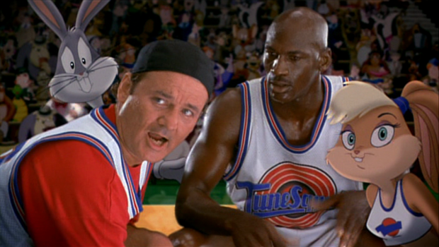 "Michael Jordan in ""Space Jam"""