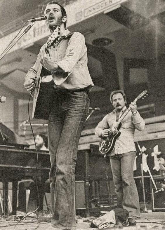 In concerto nel 1975