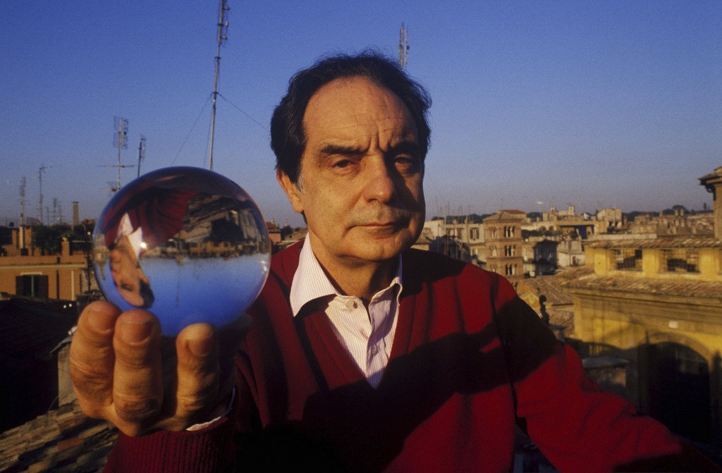 Italo Calvino a Roma nel dicembre 1984
