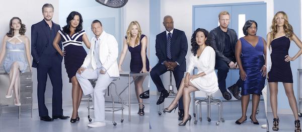 """Shonda Rhimes e il cast di """"Grey's Anatomy"""""""