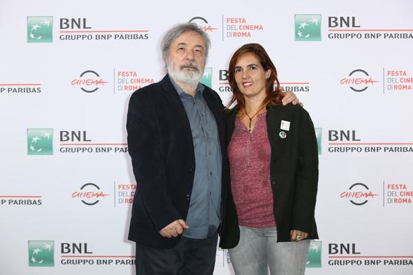 Cecilia Pagliarani con Gianni Amelio