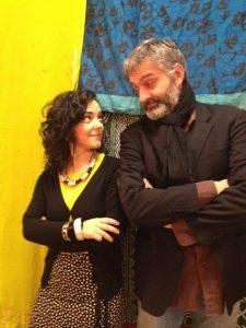 Claudio Gnessi e Carla Ottoni