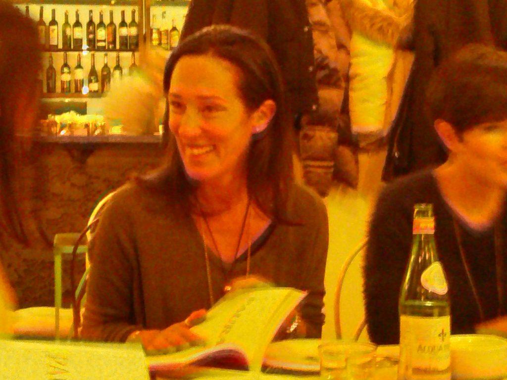 Chiara Gamberale alla presentazione del libro a Milano