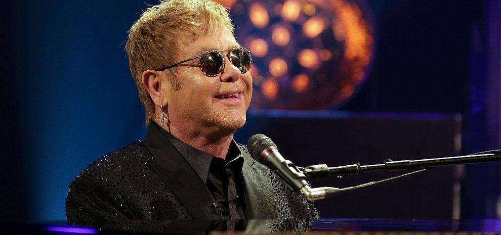 Sanremo 216: il mito Elton John