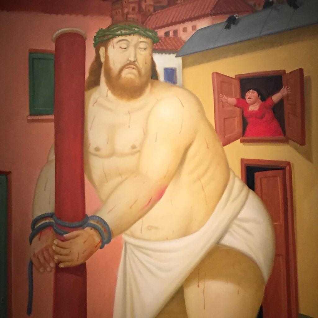 Fernando Botero, Cristo alla colonna