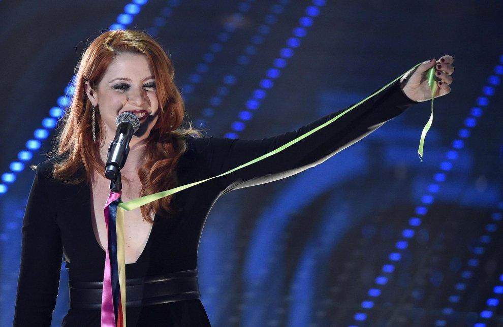 Sanremo 2016: anche Noemi ha espresso la propria vicinanza al movimento Arcobaleno