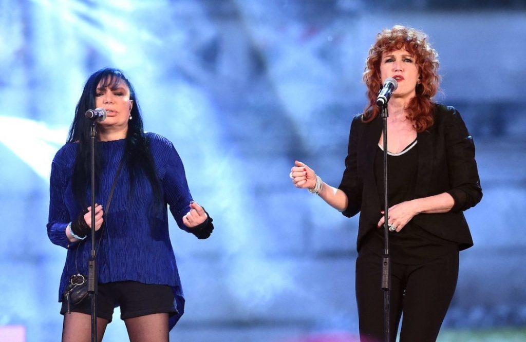Loredana Bertè e Fiorella Mannoia