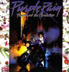 """La copertina di """"Purple rain"""" (1984)"""