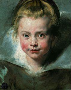 P.P. Rubens - Ritratto di Clara Serena Rubens (1611-1623)