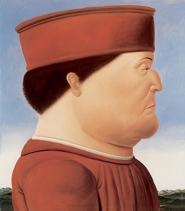 Piero della Francesca visto da Botero