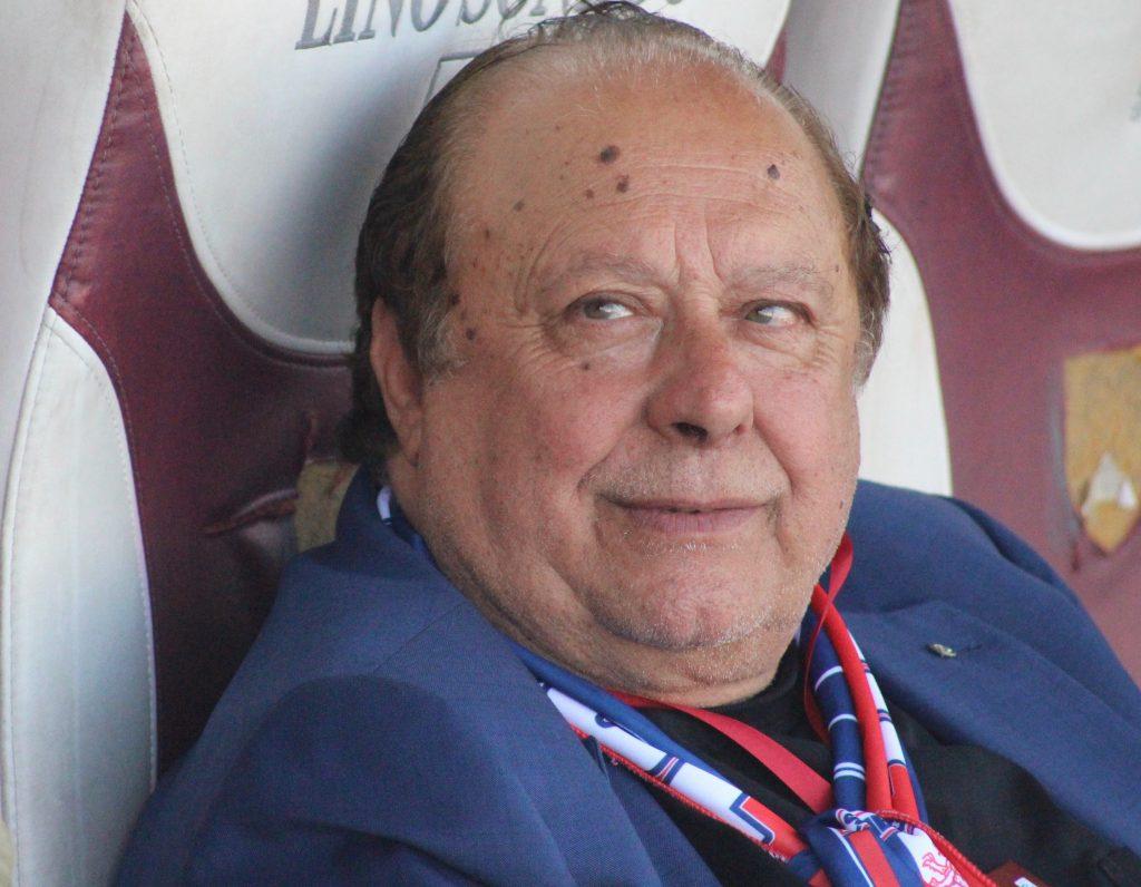 Pippo Caffo, presidente della Vibonese Calcio.