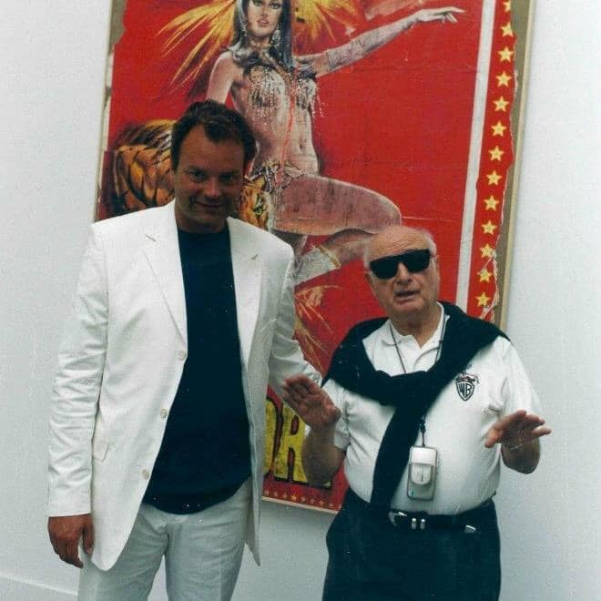 Piero Mascitti e Mimmo Rotella